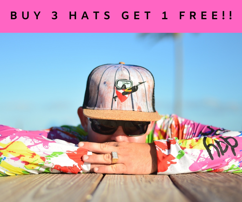 BUY 3 HATS GET 1 FREE new